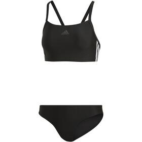 adidas Fit 3-Stripes Infinitex Bikini Dames, zwart